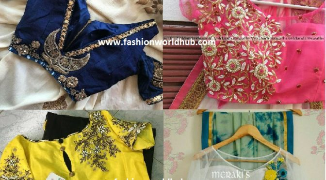 Latest blouse designs 2017