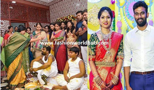 Paritala Sriram Pellikoduku function Photos