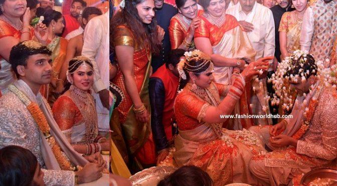 BIG FATT Wedding! NTV daughter Rachana and Vishnu Teja. wedding photos!