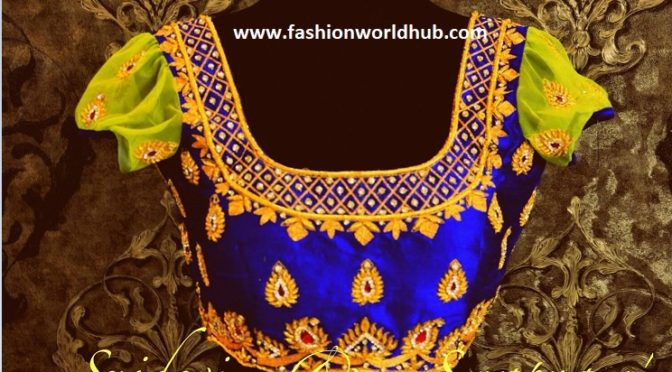 Gorgeous blouse designs from Sridevi & Swapna Label