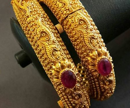 One gram gold Bangle designs