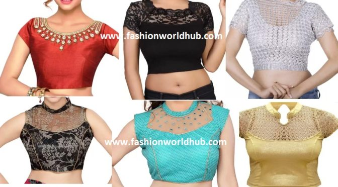 Ready made designer blouses ( Buy online)