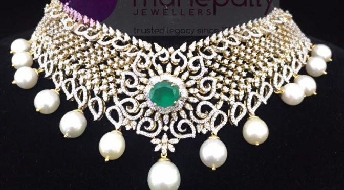 Designer diamond Choker
