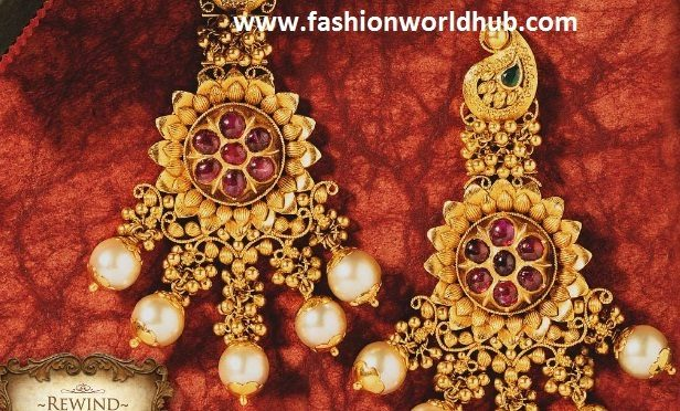 Gold Antique Ear rings
