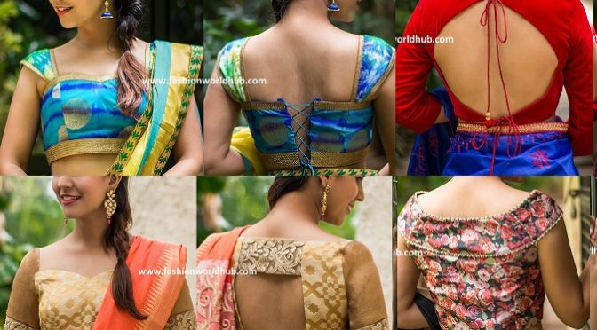 """Latest blouse designs by """"House of blouse"""""""