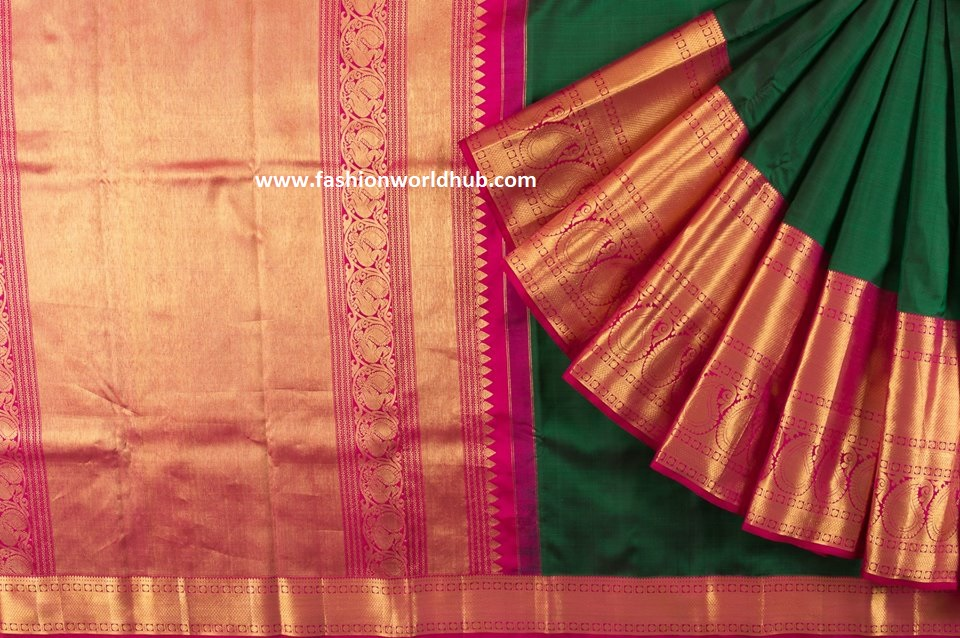 Gorgeous Kanchipuram Sarees By Kankatala Fashionworldhub