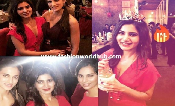 Samantha Prabhu Bachelorette party photos