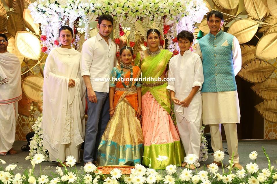 Mahesh babu Sister Manjula's Daughter Jahnavi Half Saree