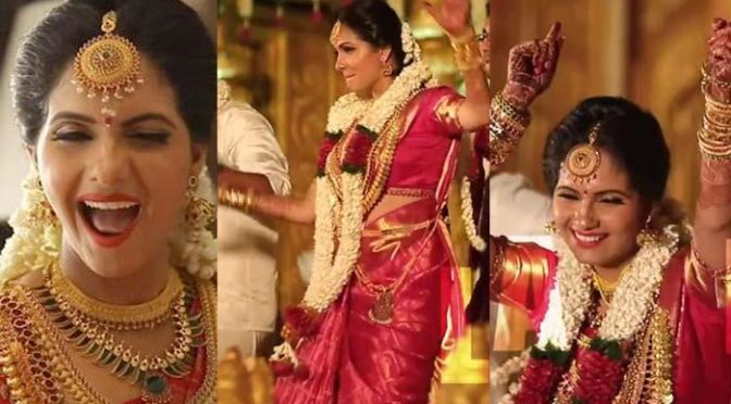 Malayali Actor Ashwathy Dancing With Groom On Her Wedding Is Going Viral