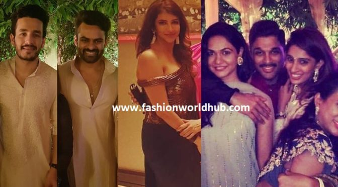 Celebrities at Chiranjeevi diwali bash celebrations