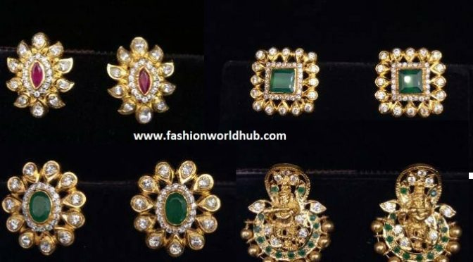 Beautiful Gold Ear ring designs