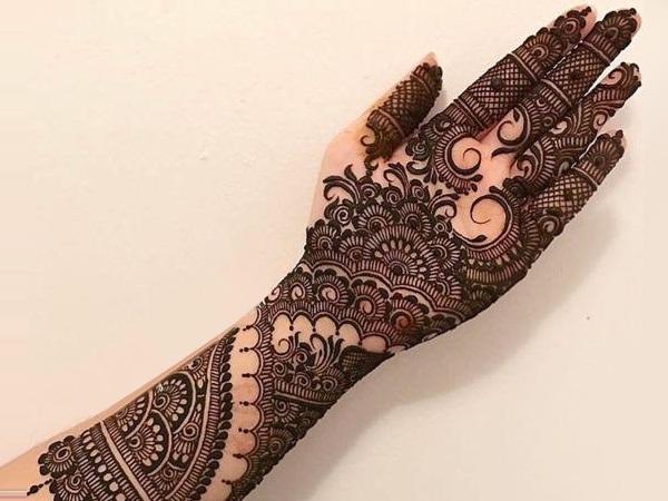 Bridal Mehndi : Outstanding bridal mehendi designs fashionworldhub
