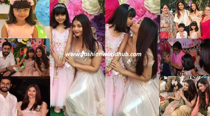 Grand 6th birthday celebrations of Aishwarya daughter Aaradhya bachan!