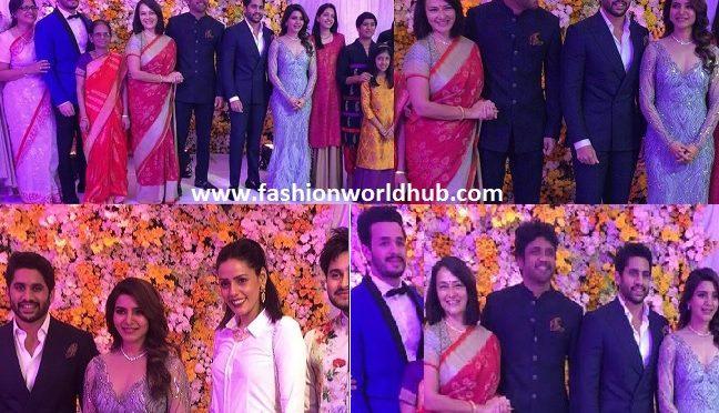 Grand Reception of Akkineni Samantha & Nagachaitanya!