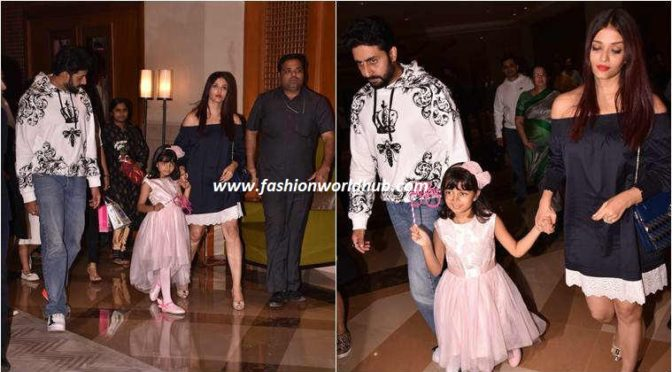 Aish and Abhi celebrate daughter Aaradhya Bachchan's birthday in style