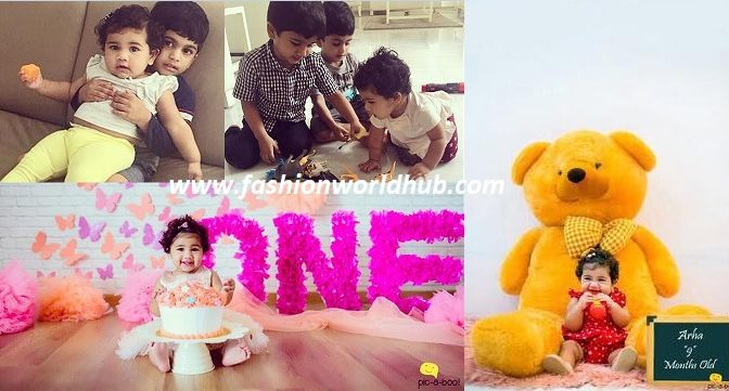 Allu Arjun daughter Allu Arha first birthday special photos!