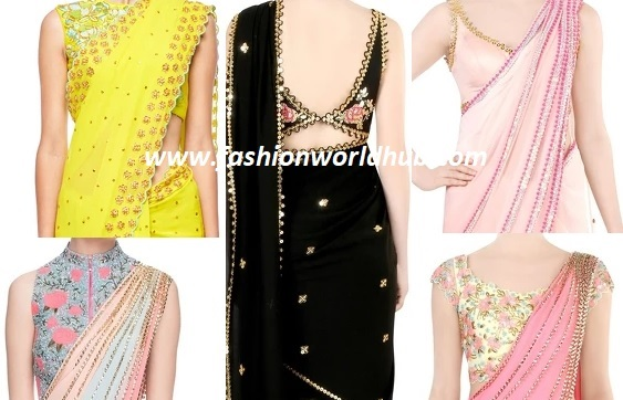 Gorgeous Saree and Blouse Designs by Papa Don't Preach