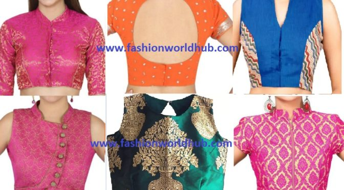 Ready made High Neck Blouses ( BUY ONLINE)