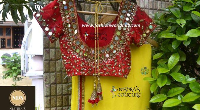 Designer sarees & Designer blouses by Nishras Designer Studio