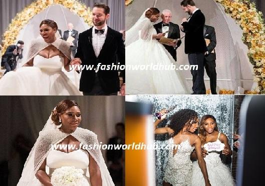 tennis star serena williams amp alexis ohanian wedding