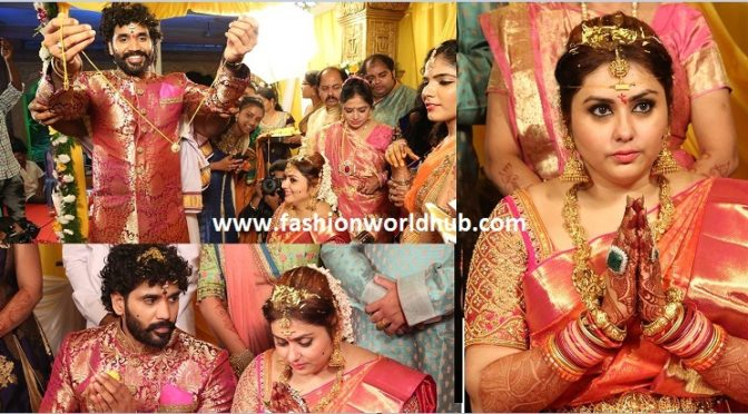 Actress Namitha and Veera's Wedding photos!