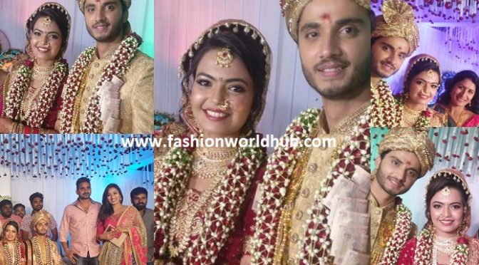 Zee Telugu fame serial America Ammai Samanya wedding photos!