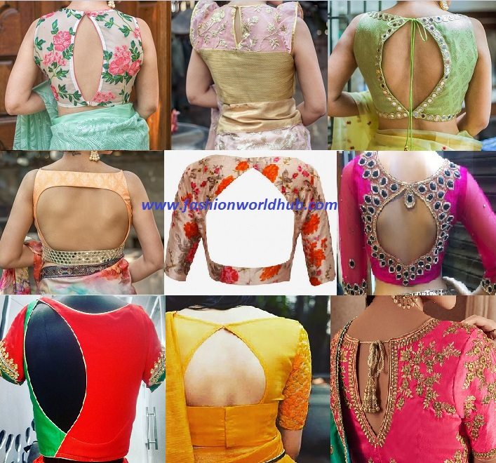 Boat Neck Blouse Designs Back Side Boat Neck Blouse Designs 15 Latest Blouses Are The Rage In Blouses Discover The Latest Best Selling Shop Women S Shirts High Quality