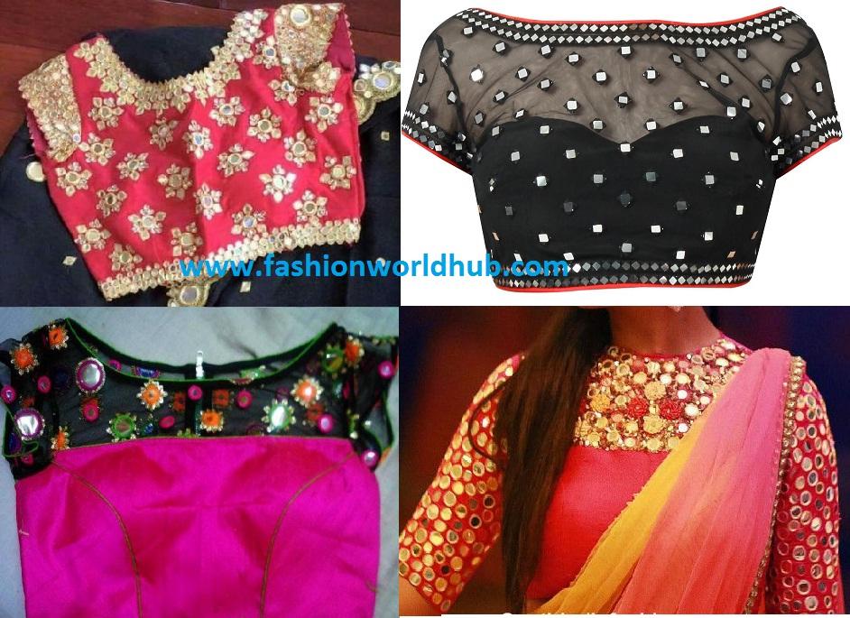 15dc4a11f7de7 Trending Boat neck blouse designs | Fashionworldhub