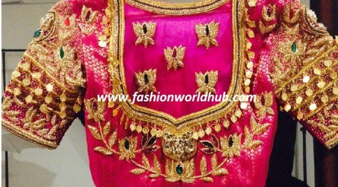 Kasu embellishment blouse