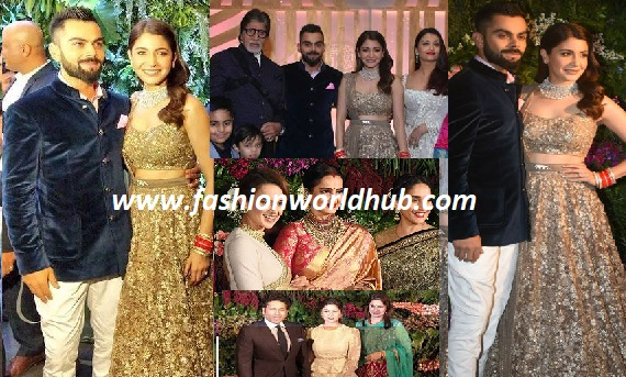 Grand Wedding Reception of Anushka Sharma & Virat Kohli's  in Mumbai.