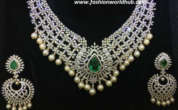 Emerald Diamond Choker