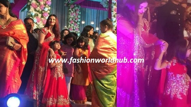 All eyes on Aishwaryarai at her cousin's wedding!