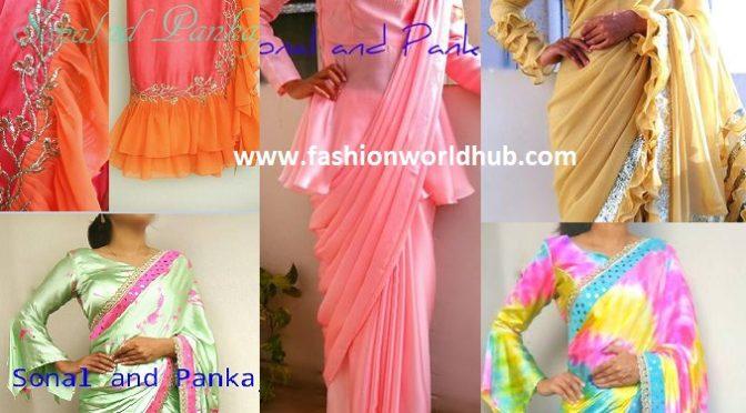 Unique designer sarees by Sonal and pankaj.