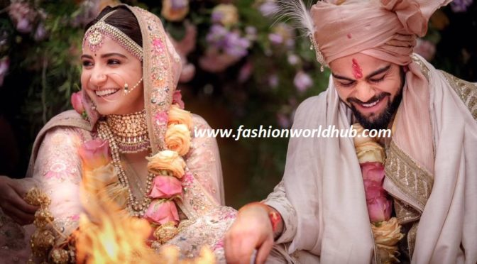 Virat Kohli & Anushka Sharma wedding photos!