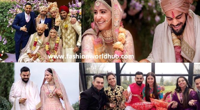 Complete Wedding Album of Virat Kohli and Anushka Sharma!