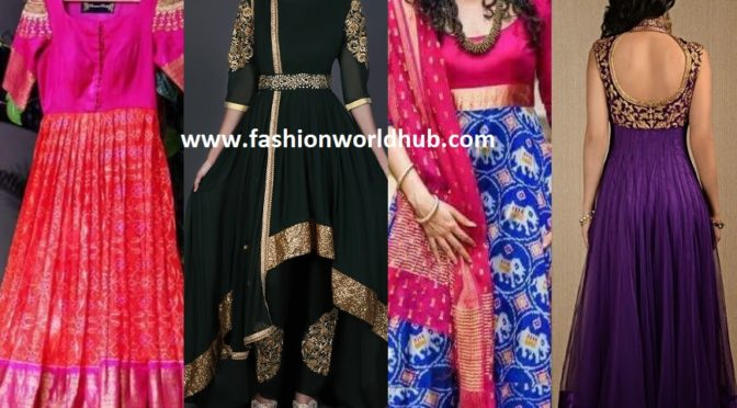 6 Different Styles Anarkali dress must have in women's wardrobe!