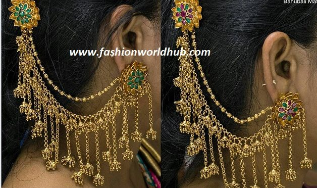 Bahubali ear rings