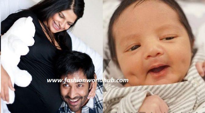 Finally Manchu Vishnu shared his cute baby boy photo!
