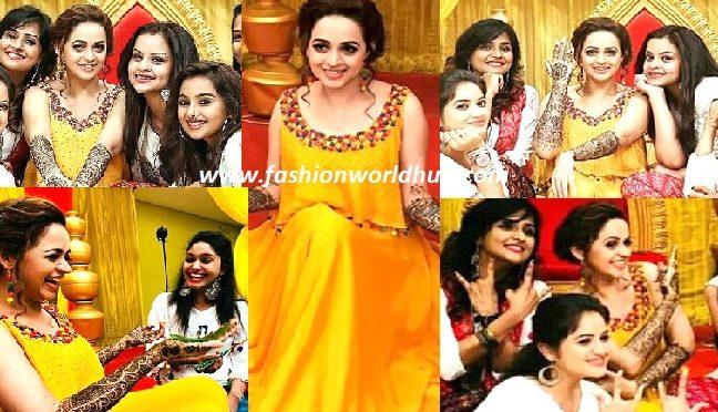 Malyalam Actress Bhavana Mehendi ceremony photos & video!