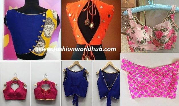 Stylish blouse designs