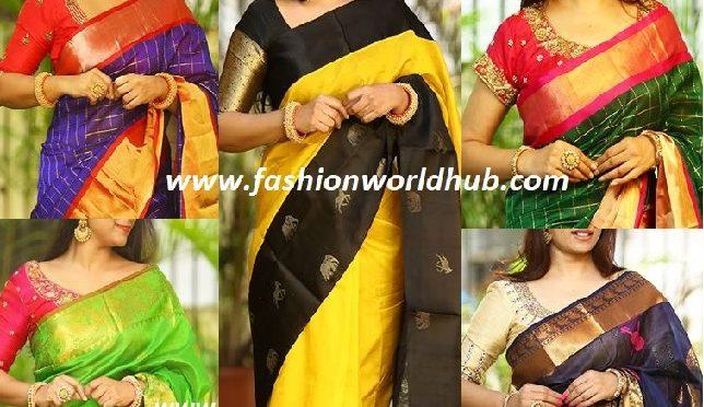 Trending Kuppadam pattu sarees