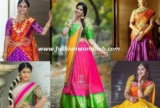 Traditional Lehenga honi designs