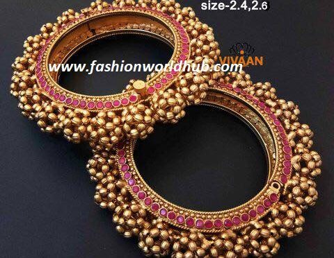 One gram gold heavy bangles