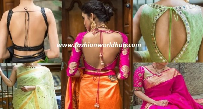 Beautiful saree and blouse collection from House of blouse