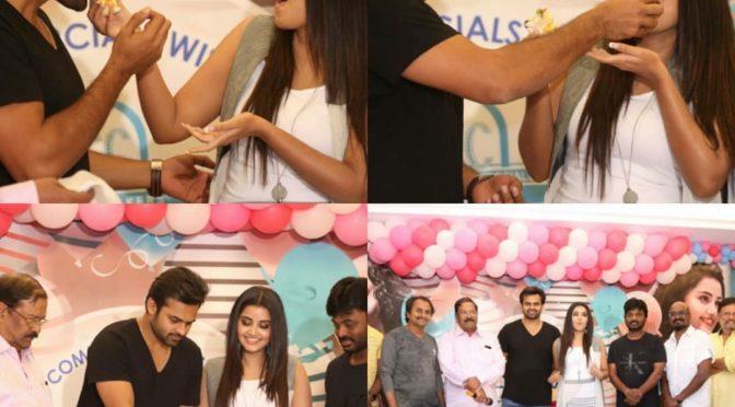 Anupama parameswaran birthday celebrations photos.