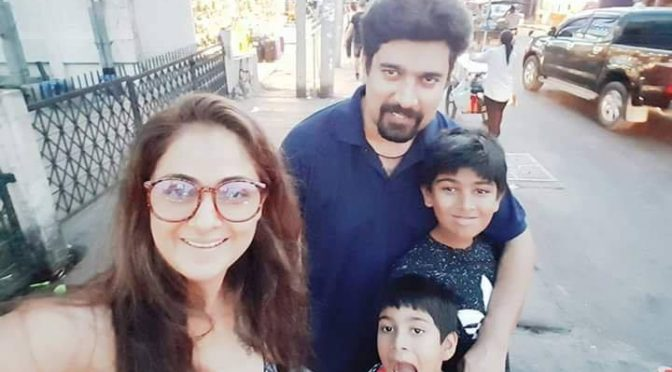 Actress Simran family photos!