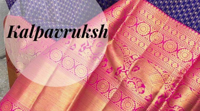 Latest pattu saree designs by Kalpavruksh