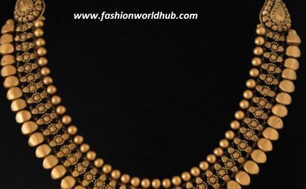 Unique Antique gold necklace