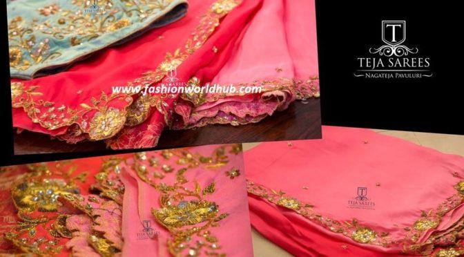 Designer Sarees and designer blouses