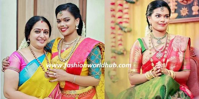 Actress Seetha daughter Keerthana Engagement photos!